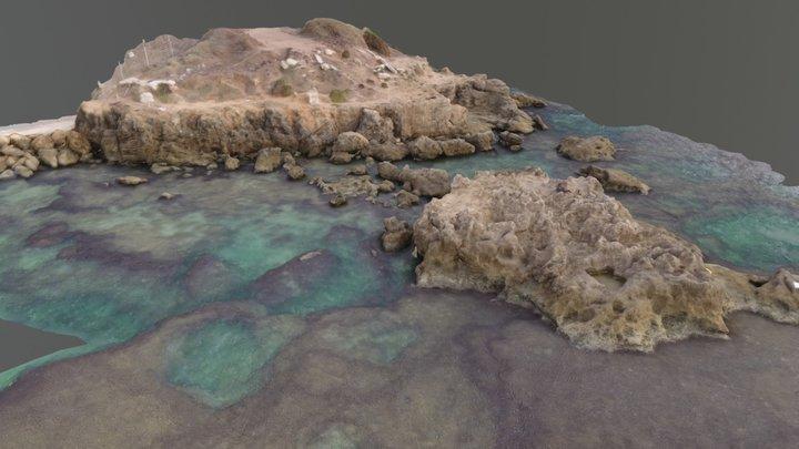 Intertidal shore @ Mikhmoret, Moshav Israel 3D Model