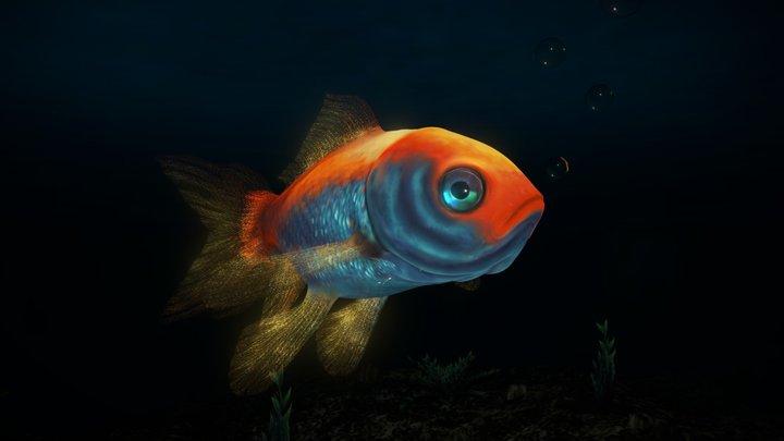 COMET - The Goldfish 3D Model