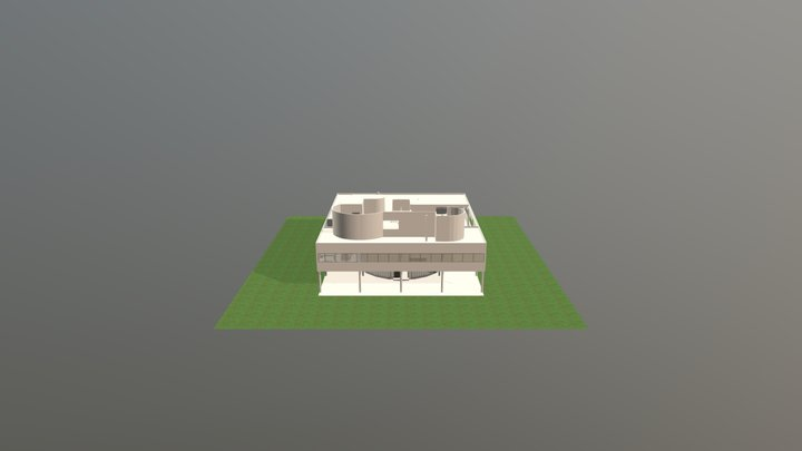 VILLA+SAVOYE 3D Model