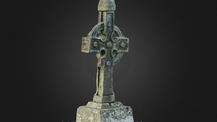 Ahenny High Cross Reduced 3D Model