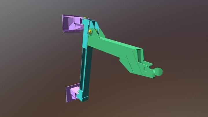 Ladle Cover Holder ● Держатель крышки ковша 3D Model