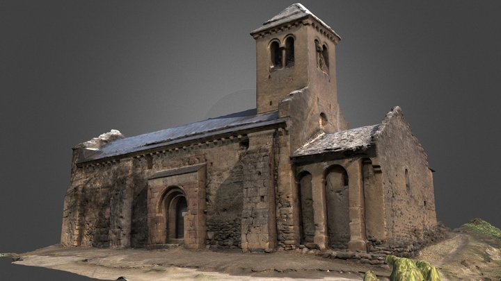 Chapelle Saint Paul d'Arnave 3D Model