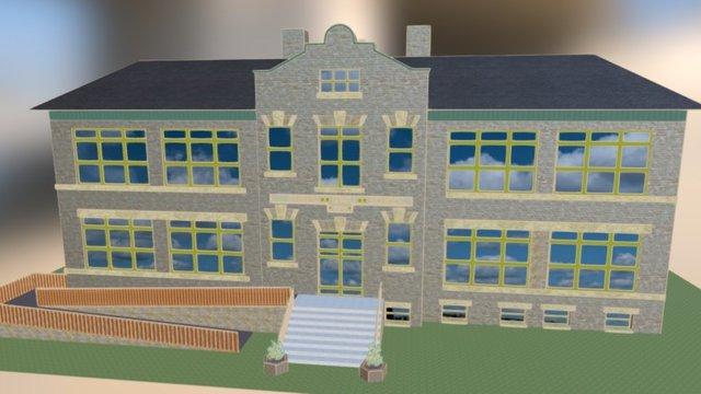Gimli School 3D Model