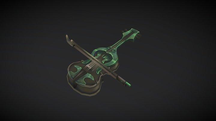 Kul'Tiras Violin 3D Model