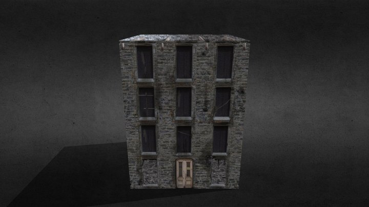 BUILDING DESTROYED 3D Model