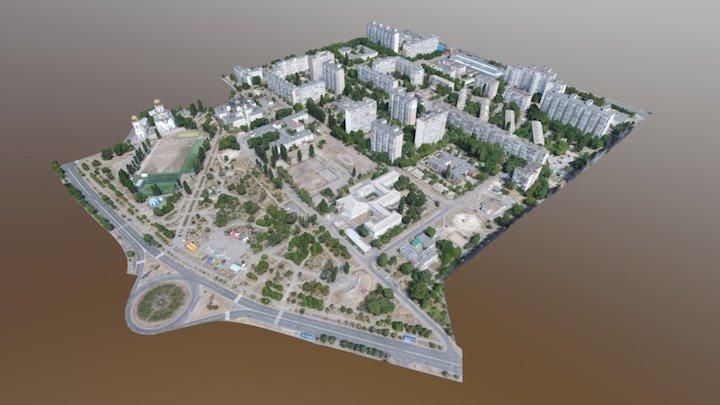 City (Draft model) 3D Model