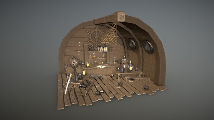 Pirate Tavern 3D Model