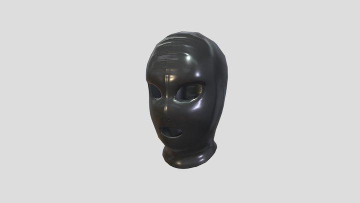 Latex Mask 3D Model