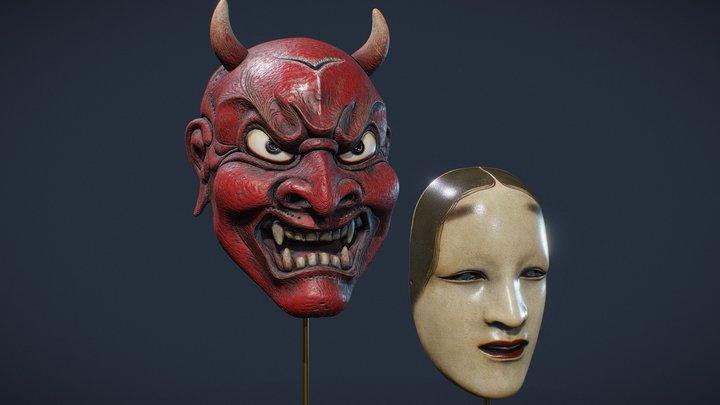 Mystery Masks 3D Model