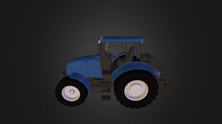 tractor full1 3D Model