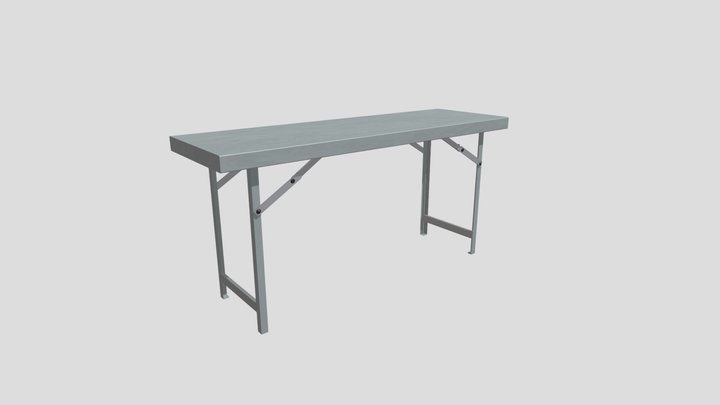 Multi Slim Table1 3D Model