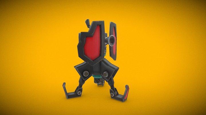 deploy turret 3D Model