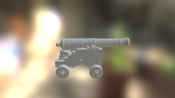 Cannon-  Dylan Rodrigues 3D Model