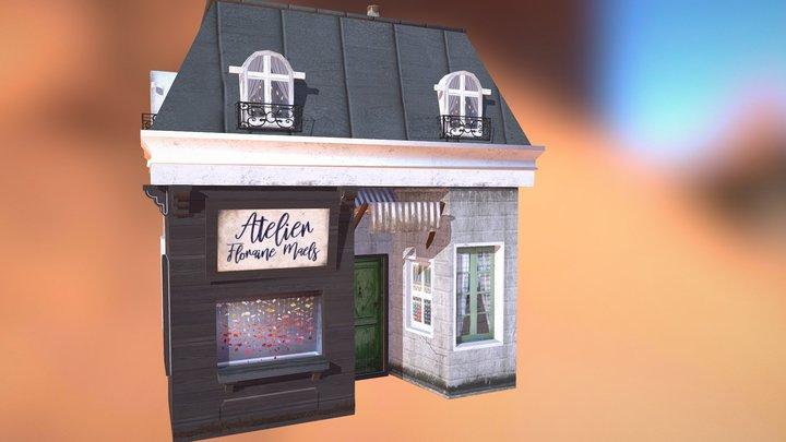 Little Atelier 3D Model