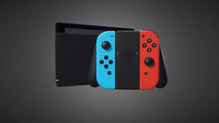Nintendo Switch for Element 3D 3D Model