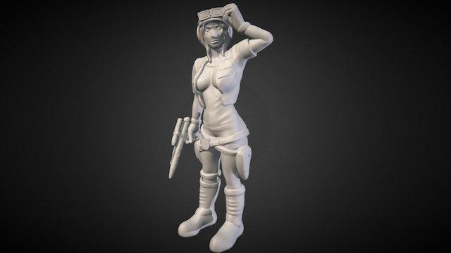 """Dr. Aphra - """"Age of Rebellion"""" 3D Model"""