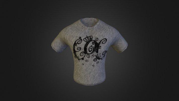 T-shirt_low.OBJ 3D Model