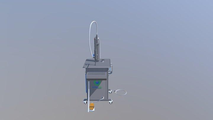 Volume-Based  liquid filling machine 3D Model
