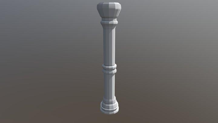 Pillar 3D Model 3D Model