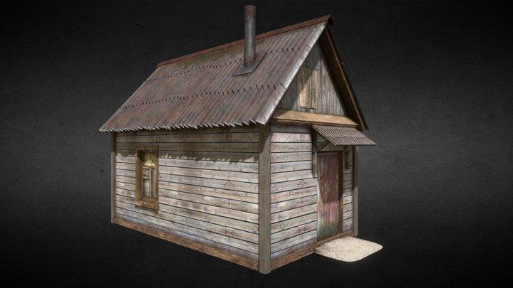 Caretaker shack 3D Model