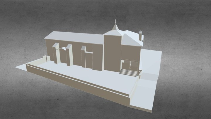 Ermita de la Virgen del Castillo 3D Model