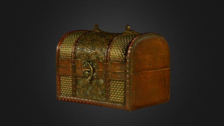 Wooden Chest 3D Scan - Artec Eva 3D Model