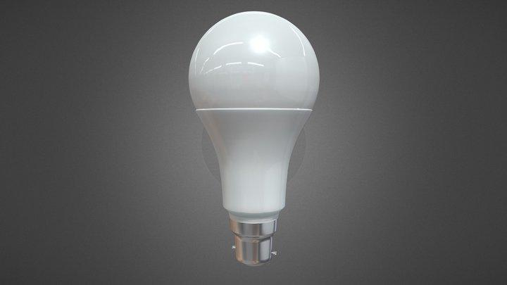 LED Lightbulb 3D Model