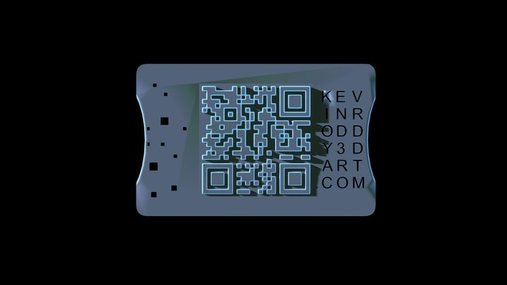 3D Business Card 3D Model