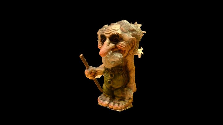 Norwegian Troll 3 3D Model