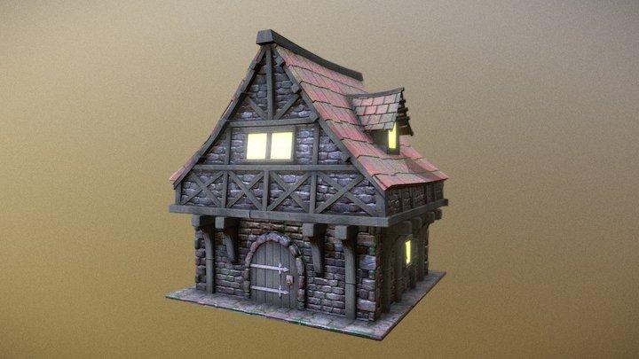 Medival House 3D Model