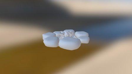 Kampvuur 3D Model