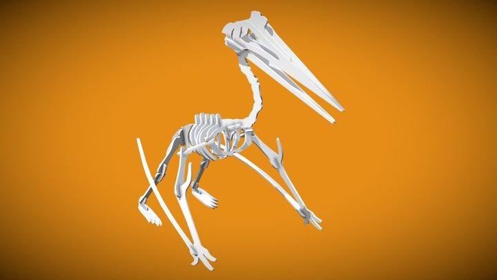 Quetzalcoatlus Complete 3D Model