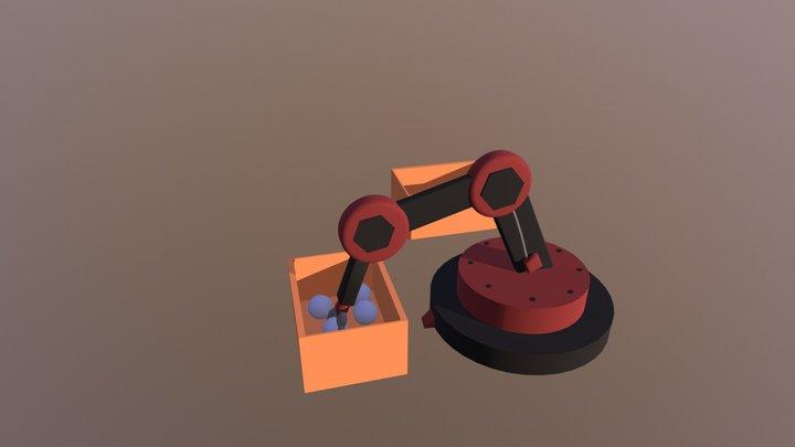 Robotarm 3D Model