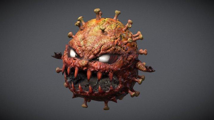 Virus_01 3D Model