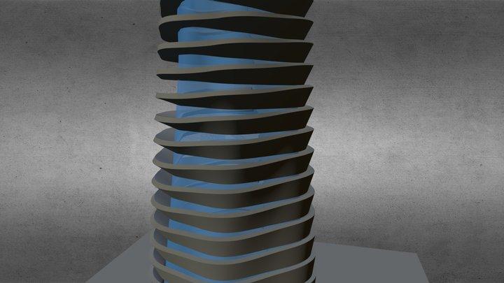 Parametric Facade 3D Model