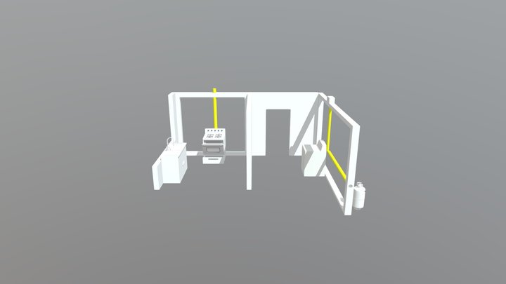 Initial Model 3D Model