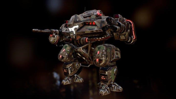 Battlemech G-33 3D Model