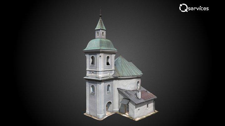 Rotunda svätého Juraja 3D Model