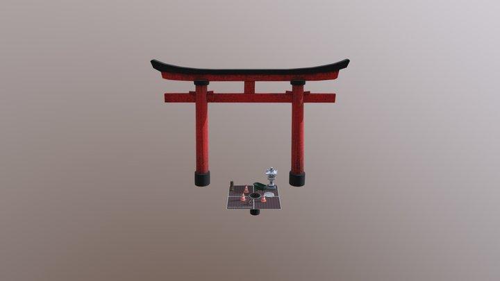 Arthur Sirjacobs Kyoto Props 3D Model