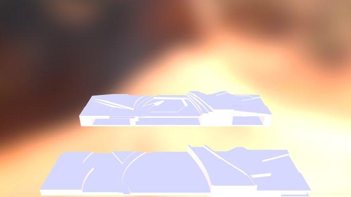 modelo maqueta para exportar 3D Model