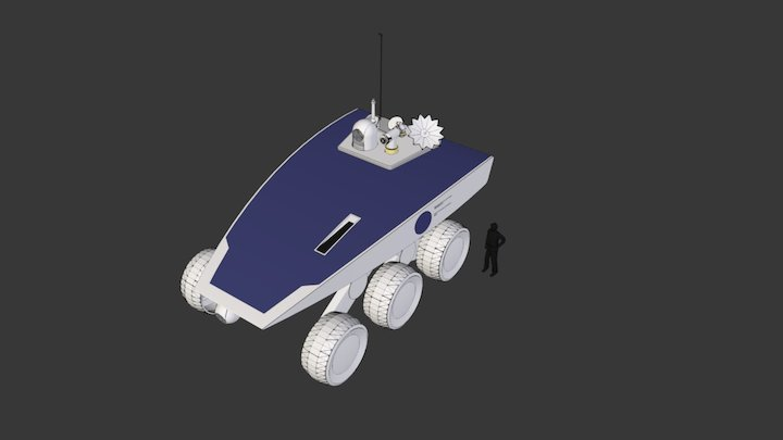 Roveabout 3D Model