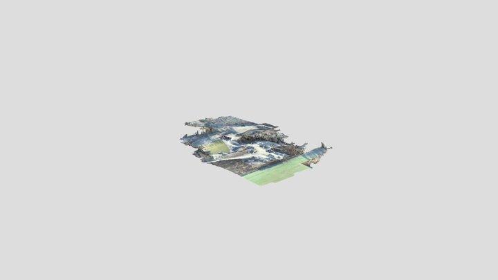 Jaunjelgava 2020 3D Model