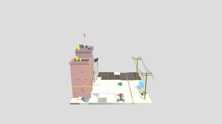 Mini Ville-final-FBX 3D Model