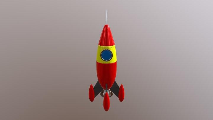 Rocket - 3d modeling 3D Model