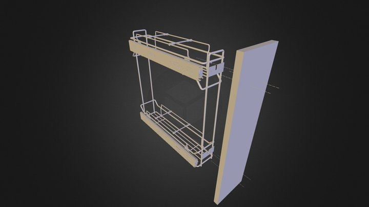 Morando Kitchen Element 3D Model