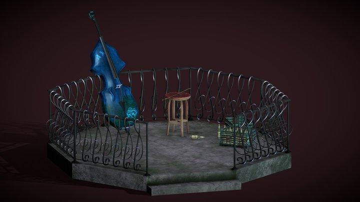 Contre Basse 3D Model