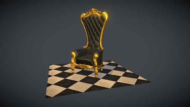 Absolom Roche Chair 3D Model