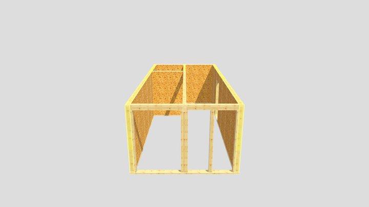 WZ - indywidualny - parter - 2021.09.23 3D Model