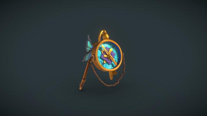 Adventurer's camp: Fairy Keychain 3D Model