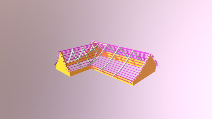 Telhado de Barro 3D Model